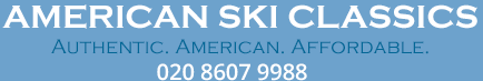 AMERICAN SKI CLASSICS AUTHENTIC, AMERICAN, AFFORDABLE 020 8607 9988